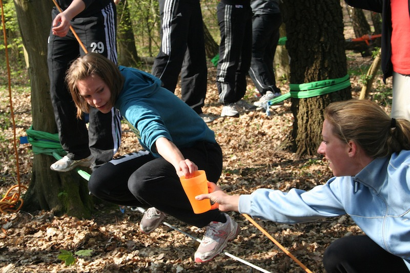 Team Building In The Nature Mohawk Walk High Ropes Courses